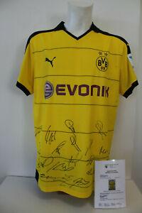 Original-signiertes-Borussia-Dortmund-Trikot-Saison-2015-2016-Teamsigniert