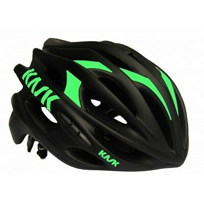 kask mojito black matt green 2018