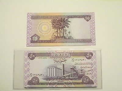 250 Dinar Note X 25 Notes Uncirculated Lot of 25 Notes 7,500 Dinar Total