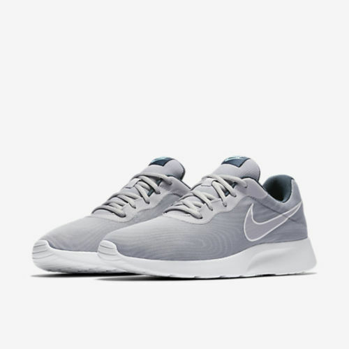 New Men's Nike Tanjun Premium Casual shoes Wolf Grey   White Sz 8 876899 003