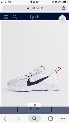 Nike White And Navy Womens World Cup