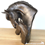 thumbnail 5 - David-Geenty-Bronze-Mare-amp-Foal-Heads-sculpture-ornament-Horse-Pony-lover-gift