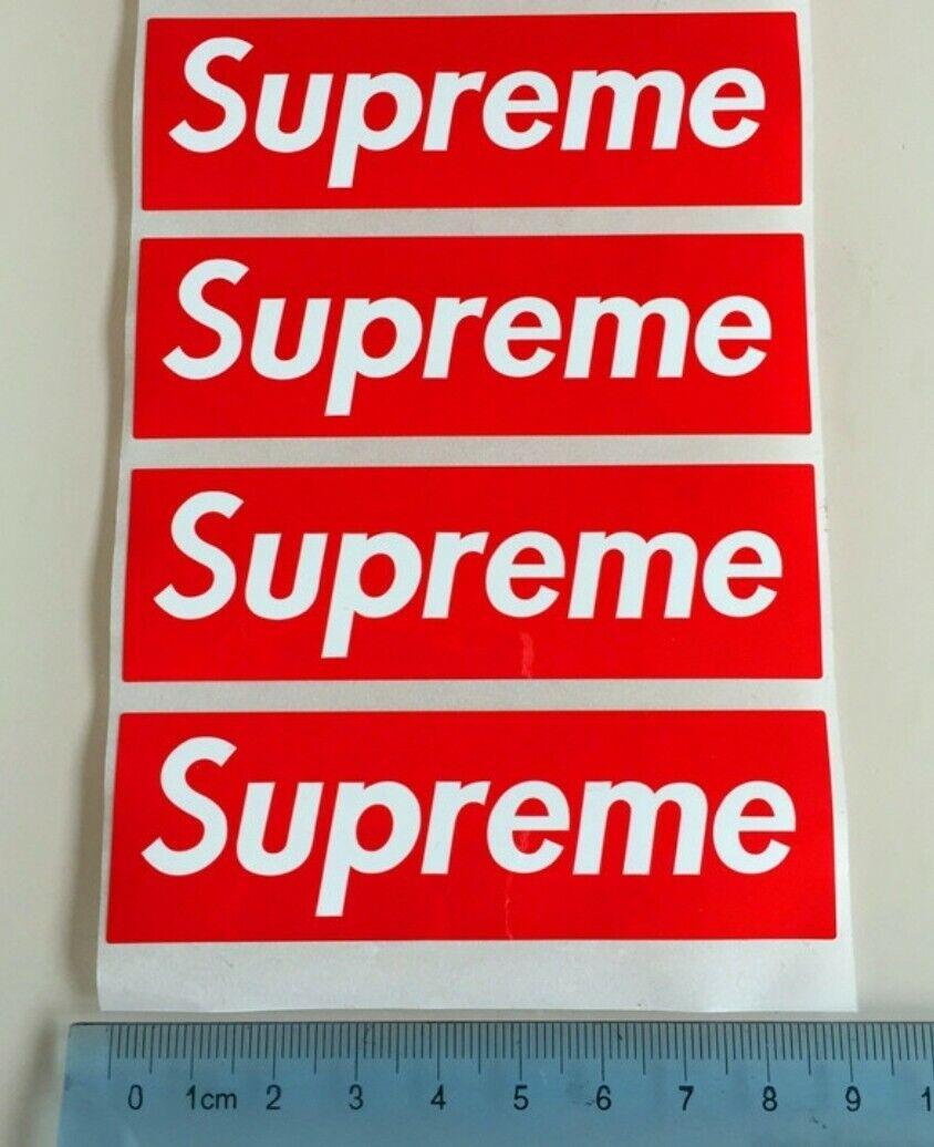 One Supreme Sticker Small 9cm×3cm For Sale Online | EBay