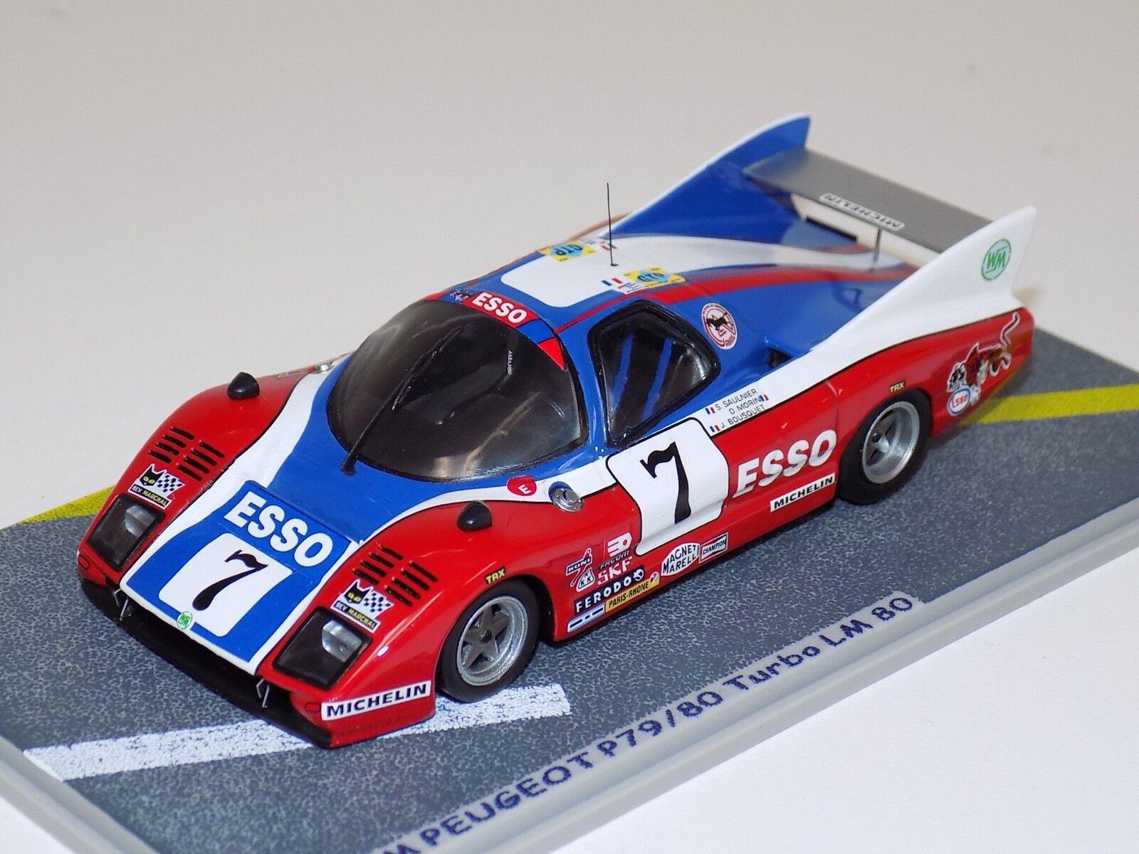 1 43 Bizarre Peugeot P79 80 Turbo  Car  7 1980 24 Hours of LeMans  BZ030