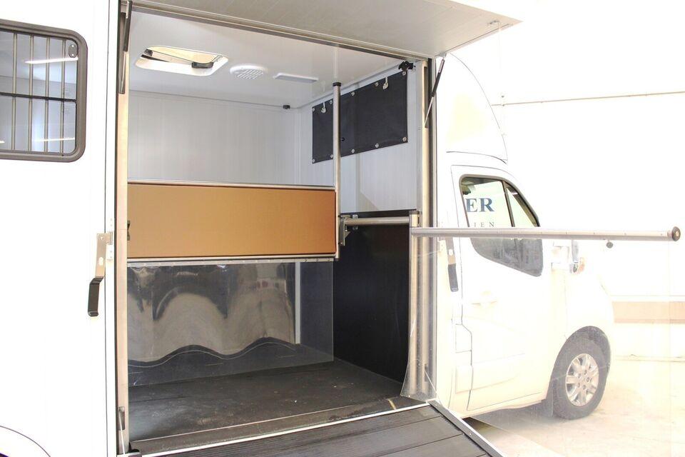 Trailer Sodiak Luxury Hestetransport 2,3 dCi 170...,