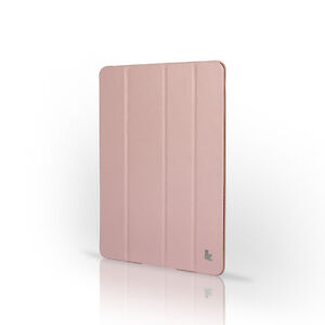 Jisoncase-Pink-High-Quality-Micro-Fiber-Case-Cover-For-Apple-New-iPad-2-and-3rd