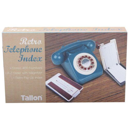 Persönlicher Telefon /& Adressbuch Retro Telefon Index Zuhause Büro