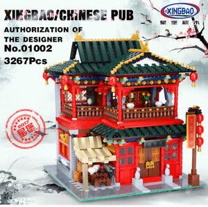 Bausteine-chinesische-klassische-Architecture-Haus-Puppenhaus-Gebaeude-XingBao