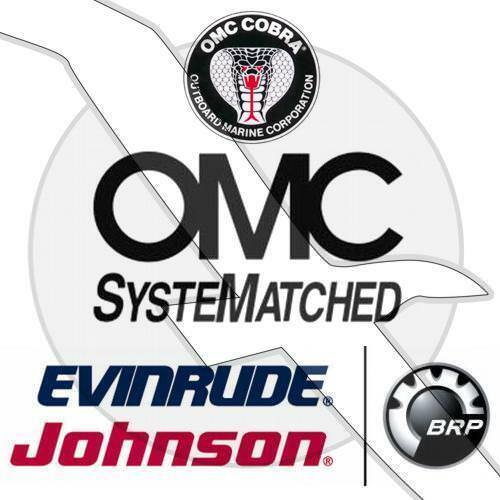 Johnson Evinrude Outboard /& OMC Sterndrive Motor Nut 0301988 301988
