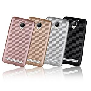 official photos 8bd63 d3672 Details about Synthetic fiber Carbon Fiber Plastic Back Cover Case For  Lenovo Vibe C2 K10A40