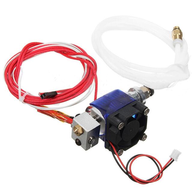 Metal J-head V6 E3d Hotend 1 75mm/0 4mm Nozzle Bowden Extruder RepRap 3d  Printer