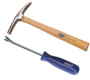 Draper-Magnetic-Tack-Hammer-190g-7oz-amp-Tack-Lifter-Puller-for-Upholstery