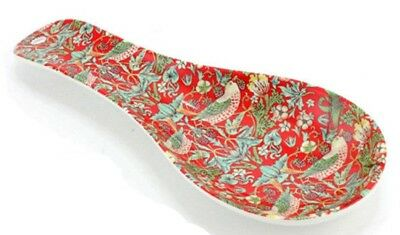 STRAWBERRY THIEF SPOON RESTS Melamine Utensil Stand Teabag Kitchen Cooking NEW