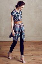 Mixed Plaid Tunic Dress By Holding Horses SZ LP PL NWT