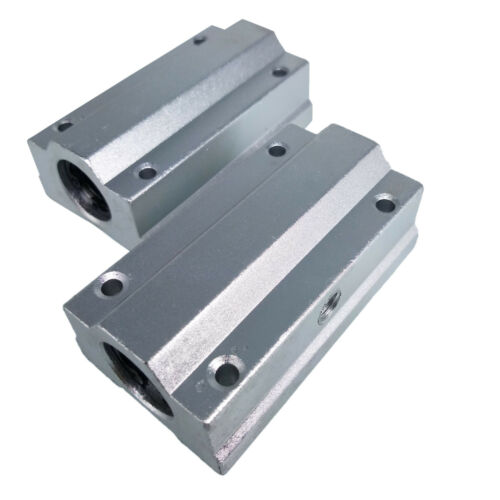US Stock 2pcs SC8LUU SCS8LUU 8mm CNC Linear Ball Motion Bearing Slide