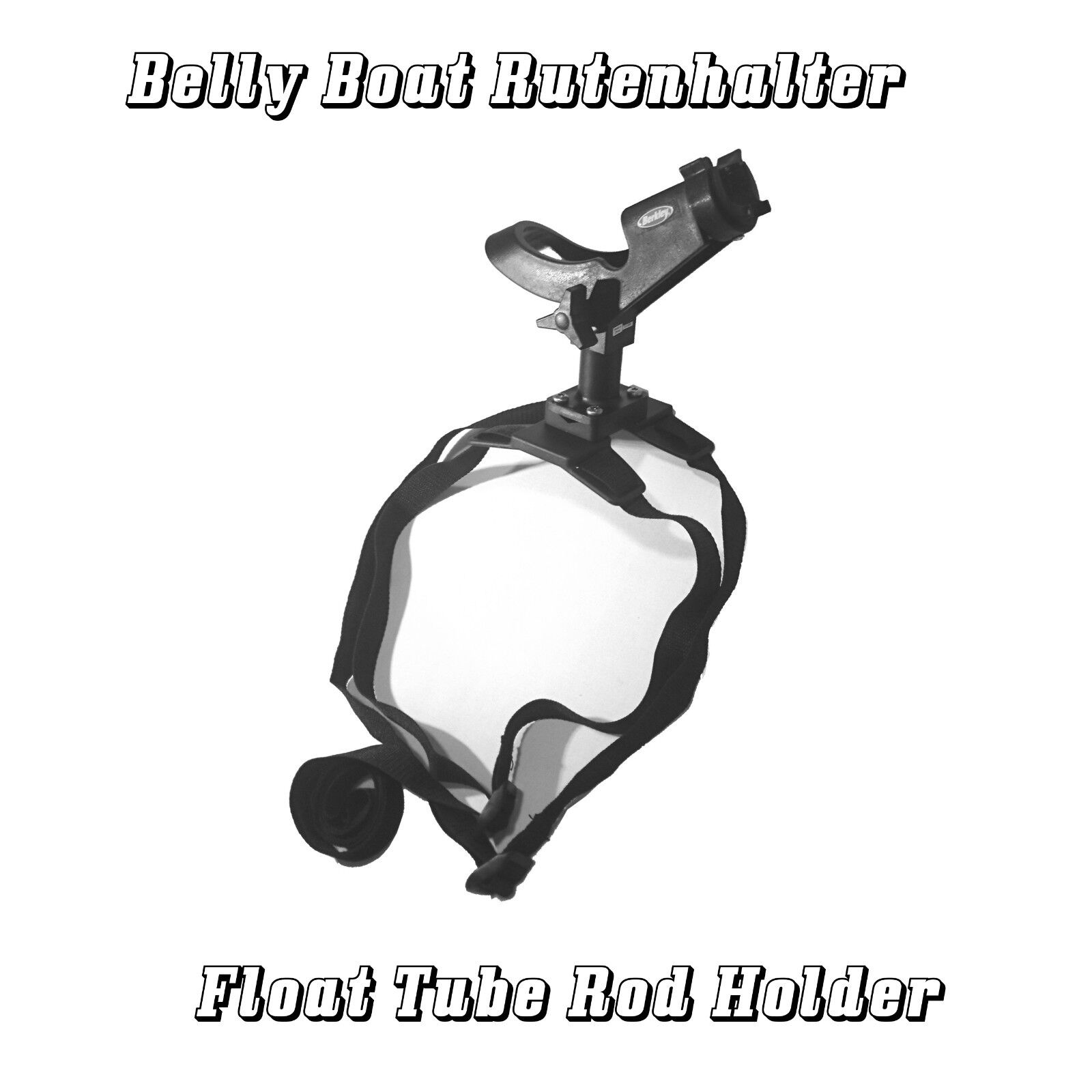 Deluxe Belly Stiefel Stiefel Stiefel Rutenhalter , Float Tube Rod Holder , Belly Boat Rod Holder f9d16c