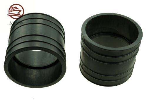 2 of Exhaust Tube Pipe Bellows 4 for  Mercruiser 32-44348001 32-44348T Outboard