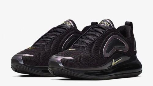Nike Air Max 720 Negro Aceite' ' para mujer Zapatillas Uk Size 5.5 EUR 39 CN0137 001 Nuevo