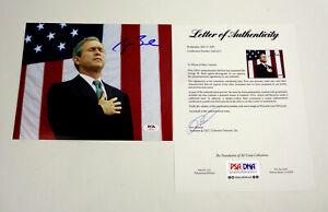 President-George-W-Bush-Signed-Autograph-8x10-Photo-PSA-DNA-COA-B