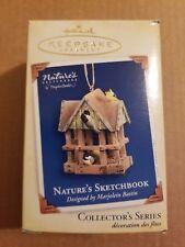 Hallmark Nature's Sketchbook 3rd in Series Keepsake Christmas Ornament 2005