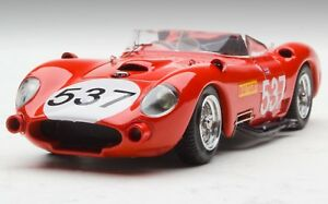 Vintage Bang 1:43 1957 Maserati 450s Mille Miglia Voiture N0.   537 # bng07251