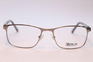 Occhiali Uomo Berlino EYEWEAR Grünau c3 ARGENTO 54 [] 18 rettangolare in metallo