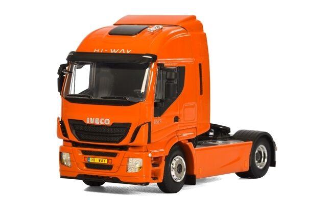 WSI COLLECTIBLES IVECO  STRALIS HI-WAY 4X2 CAB UNIT Orange 04-1158  bonne qualité