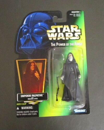 Emperor Palpatine 1996 STAR WARS Power of the Force POTF MOC