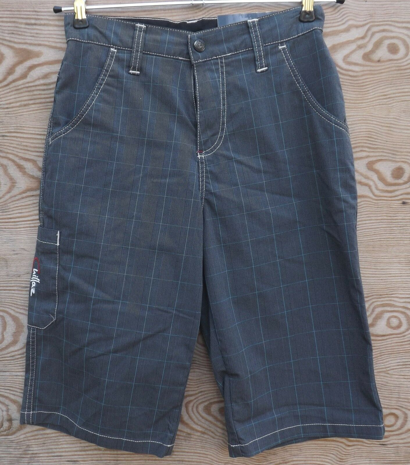 Chillaz Glencheck Stripes Shorty für Herren Gr. XS  glencheck stripes