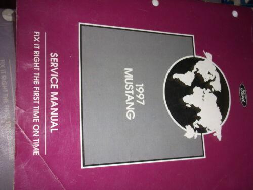 1997 Ford Mustang Gt Cobra Service Shop Workshop Manual FACTORY 97 X OEM BOOK
