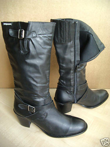 Lederstiefel Topmodern Sixtyseven Gr 36 Made in Spain 1101