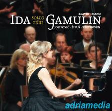 IDA GAMULIN CD Sollo Tutti 2012 Glasovir Piano Klavir Ivo Josipovic Beethoven HR