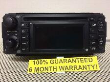 WARRANTY! 02-07 Chrysler Jeep Dodge GPS Navigation Radio CD Player