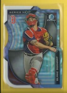 Blake-Swihart-RC-2015-Bowman-Chrome-Series-Next-Rookie-Card-SN-BS-Boston-Red-Sox