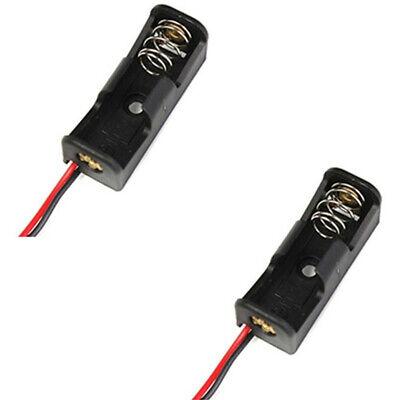 Caja Estuche Negro A295 Clip Holder 12V Batería 10Pcs 23A//A23