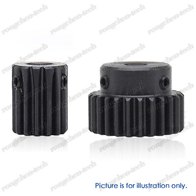 45# Steel Spur Pinion Gear 1M20T Outer Dia 22mm Bore 4//5//6//7//8//10//12mm x1Pcs