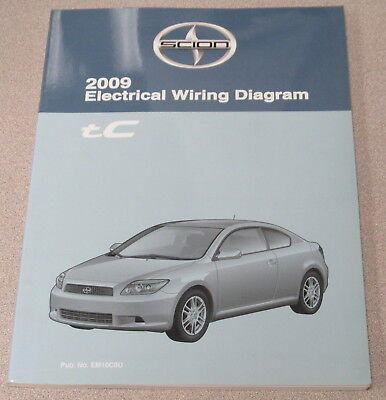 2009 Toyota Scion Tc Electrical Wiring Diagram Service Manual Ebay