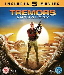 TREMORS-1-5-Anthology-Blu-ray-1990-2015-Box-Set-5-Movie-Collection-Kevin-Bacon