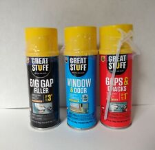 3 Cans Great Stuff Windowampdoor Gapsampcracks Big Gap Filler New1 Trusted