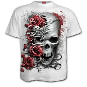 Spiral Direct NEW Skull/Goth/Reaper/Rock/Metal/Xmas/Gift/Long Sleeve T shirt/Top Clothing, Shoes & Accessories
