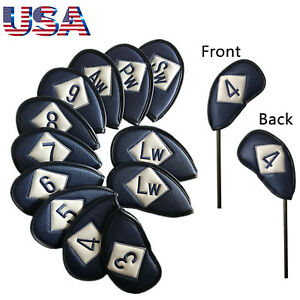 Golf-Iron-Head-Cover-Set-12-Pcs-Universal-Iron-Covers-Embroidery-Numbers-Beauty