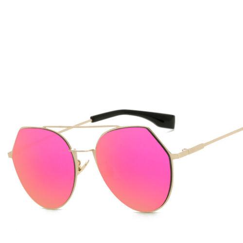 Sunglasses Mirror Cat Eye Women Point Luxury Vintage Chromic Uv Fashion Vintage