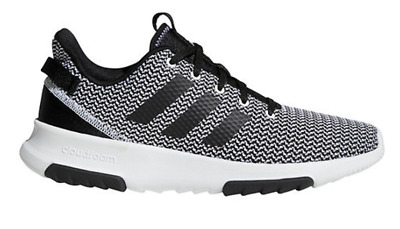 Adidas CF Racer TR Running Trainer Shoes Grey Black White $75 DA9305 Mens  US 11 | eBay