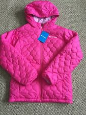 COLUMBIA Youth Girls Bella Plush Jacket Winter Coat Pink XL 18//20 NWT