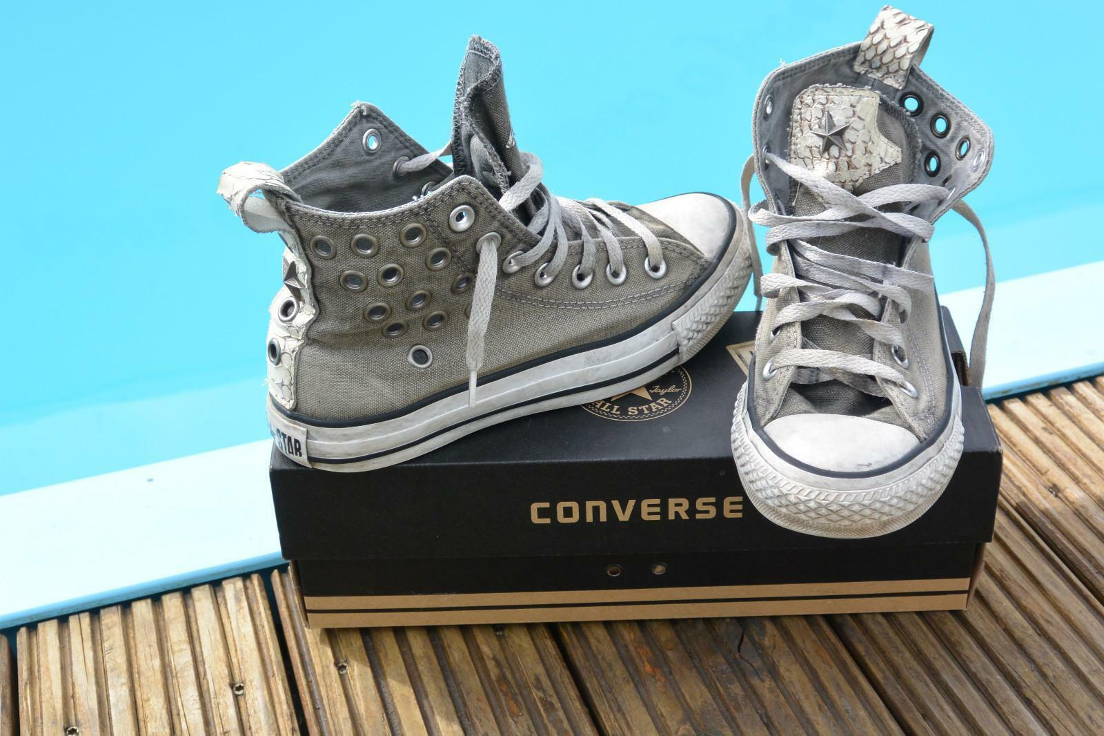 Converse ALL STAR 1C378 hi snake limited edition eyelets mt 37 ( UK 4,5) RARE