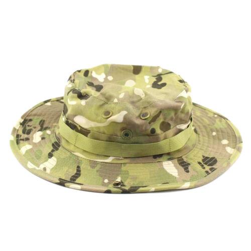 Outdoor Casual Combat Camo Ripstop Army Military Boonie Bush Jungle Sun Hat Cap