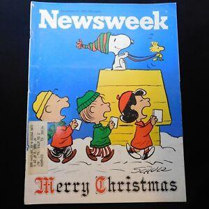 Newsweek-Peanuts-Christmas-Charlie-Brown-Charles-Schulz-Dec-27-1971