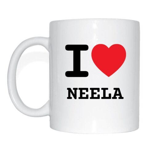 I love NEELA Tasse Kaffeetasse