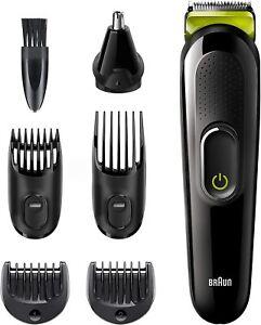Regola barba da uomo Braun Tutto-In-Uno MGK3221, Regola capelli con 5 accessori