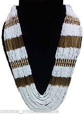 Cosmos Handicrafts Rani Haar Design Pearl Pott Necklace For Girl/Women